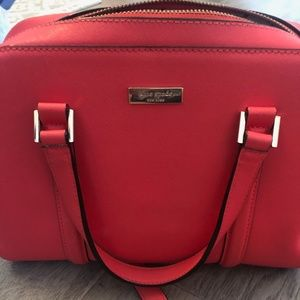 Neon (Hot) Pink Kate Spade Purse
